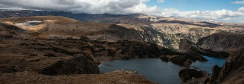 Twin Lakes on The Beartooth Highway