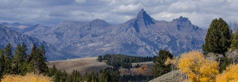Pilot & Index Peaks on The Beartooth Highway towards Cooke City & Silvergate Montana